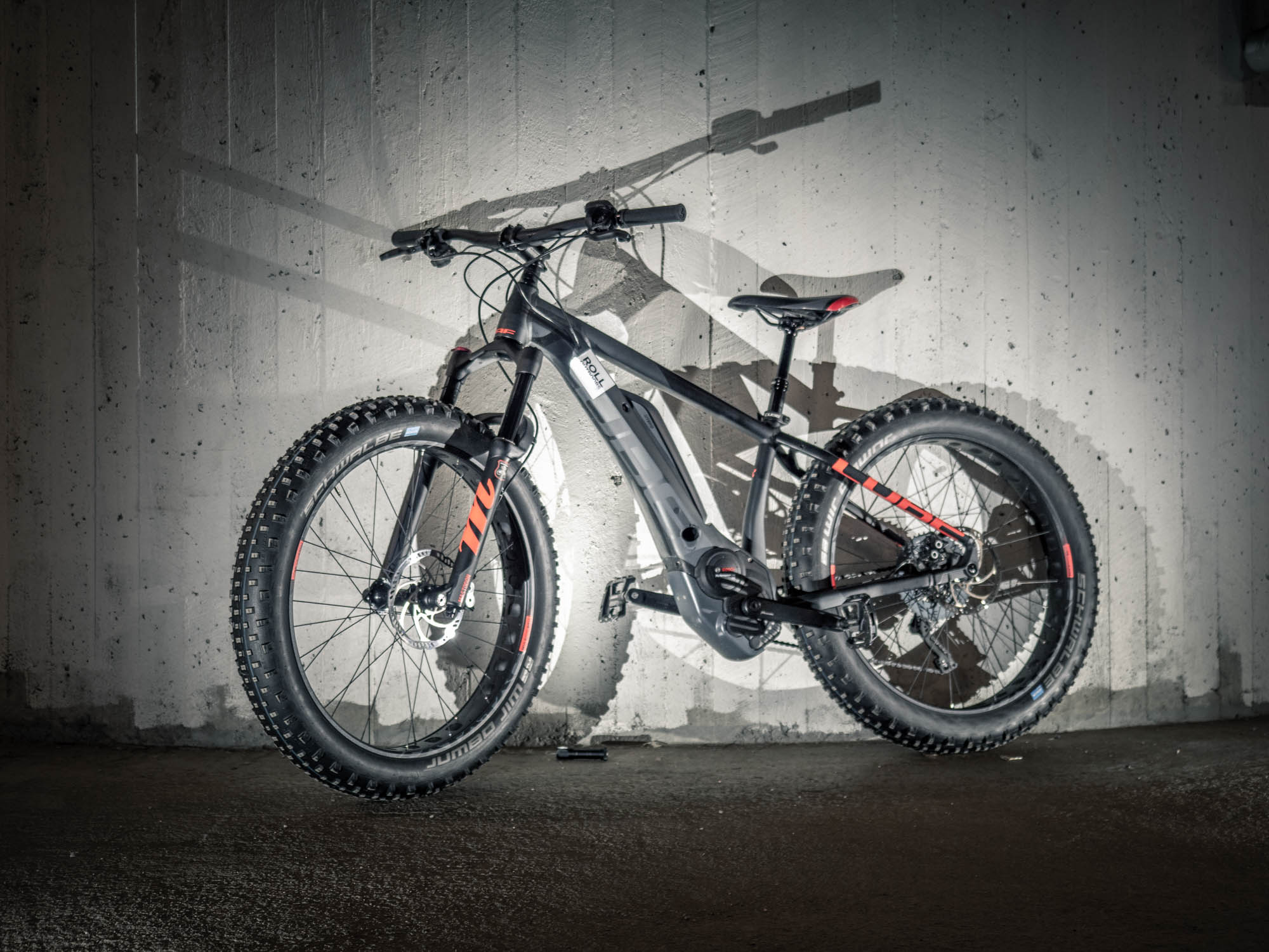 cube nutrail hybrid fatbike rental roll outdoors lapland
